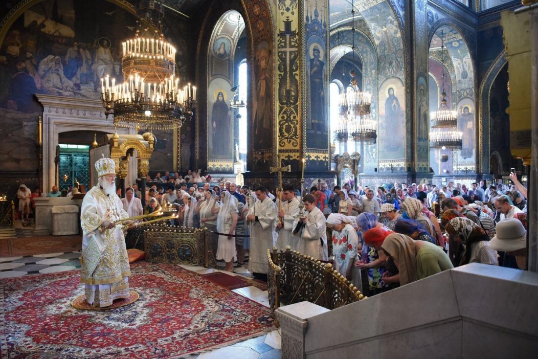 Патріарше богослужіння у 7-му неділю після Пасхи