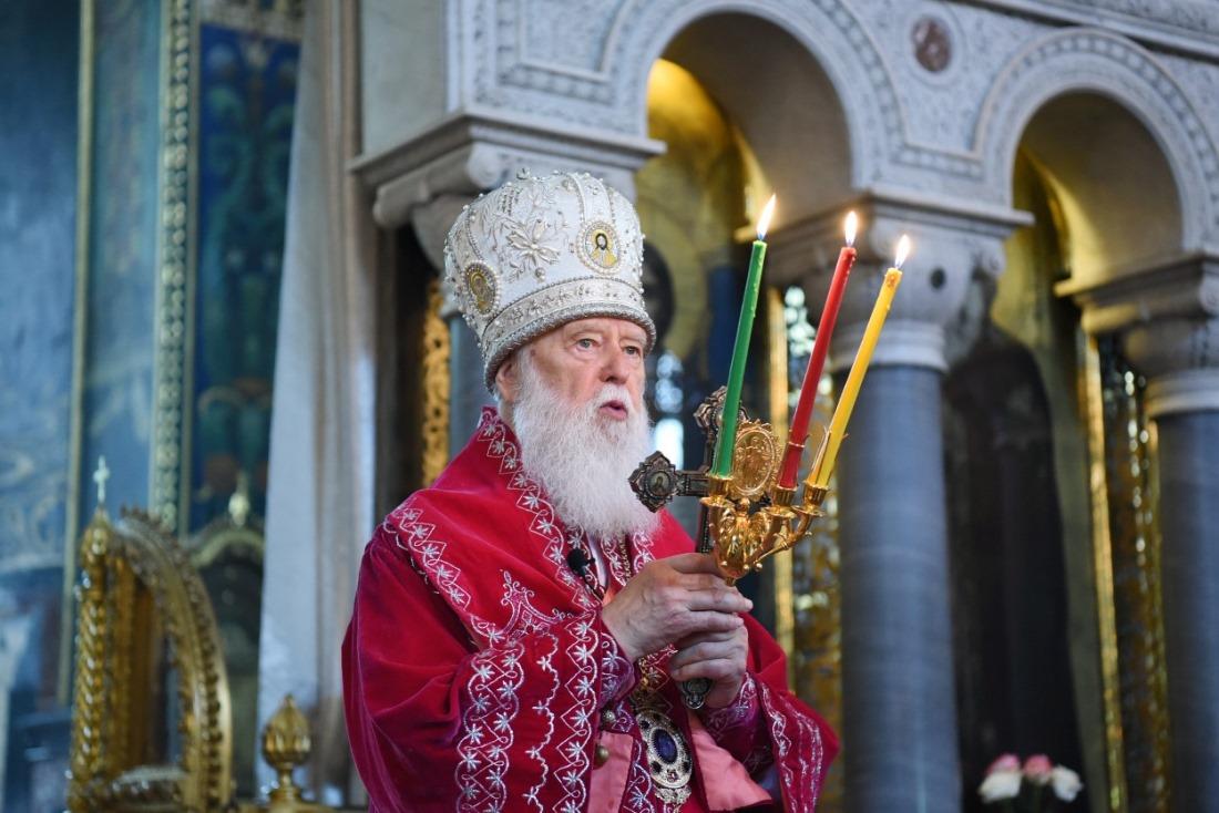 Богослужіння у день віддання свята Пасхи