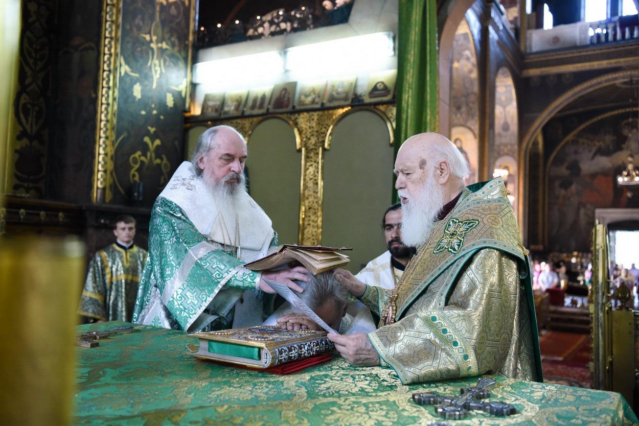 Єпископська хіротонія ієромонаха Іллі (Зеленського)