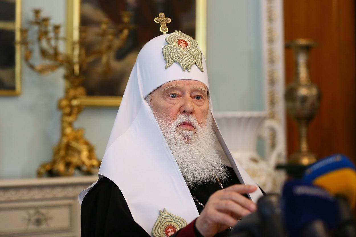 """""""І не йшлося, щоб я відмовився бути Патріархом"""", – Патріарх Філарет"""