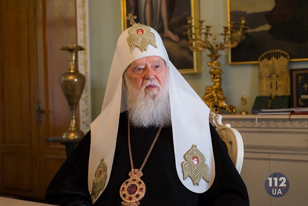 Віруючим потрібна незалежна Церква, якою є УПЦ Київського Патріархату, – інтерв'ю Патріарха Філарета виданню 112.ua