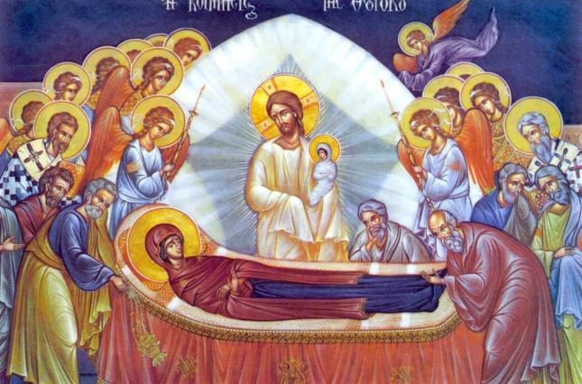 Слово Патріарха Філарета на свято Успiння Пресвятої Богородицi