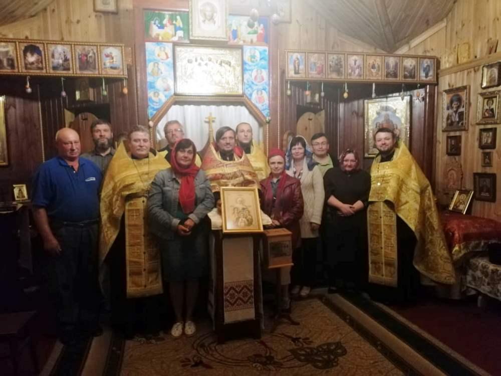 Сюжет щодо спроби рейдерства представниками ПЦУ парафії Київського Патріархату у смт Клавдієво-Тарасове