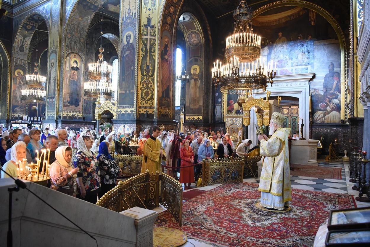 Патріарше богослужіння у неділю 7-му після П'ятидесятниці