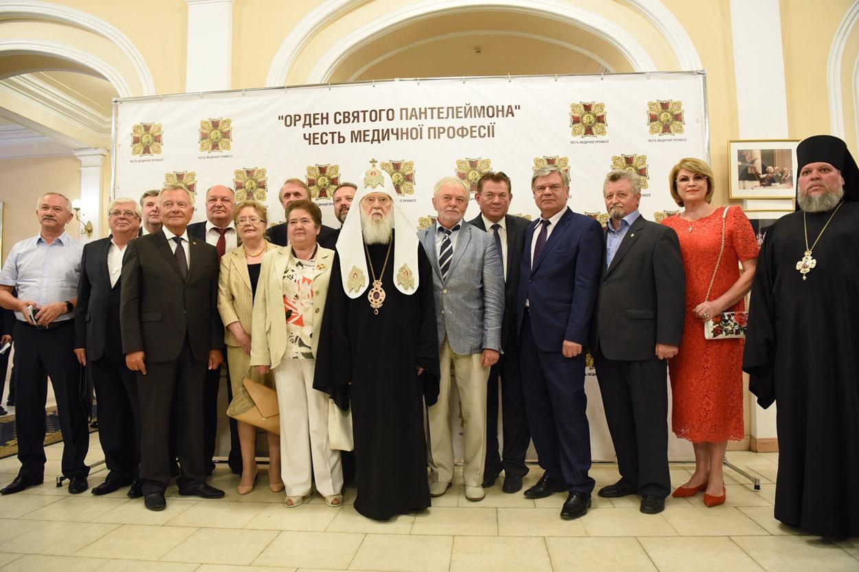 Патріарх Філарет взяв участь у засідання Поважної Ради відзнаки «Орден Святого Пантелеймона»