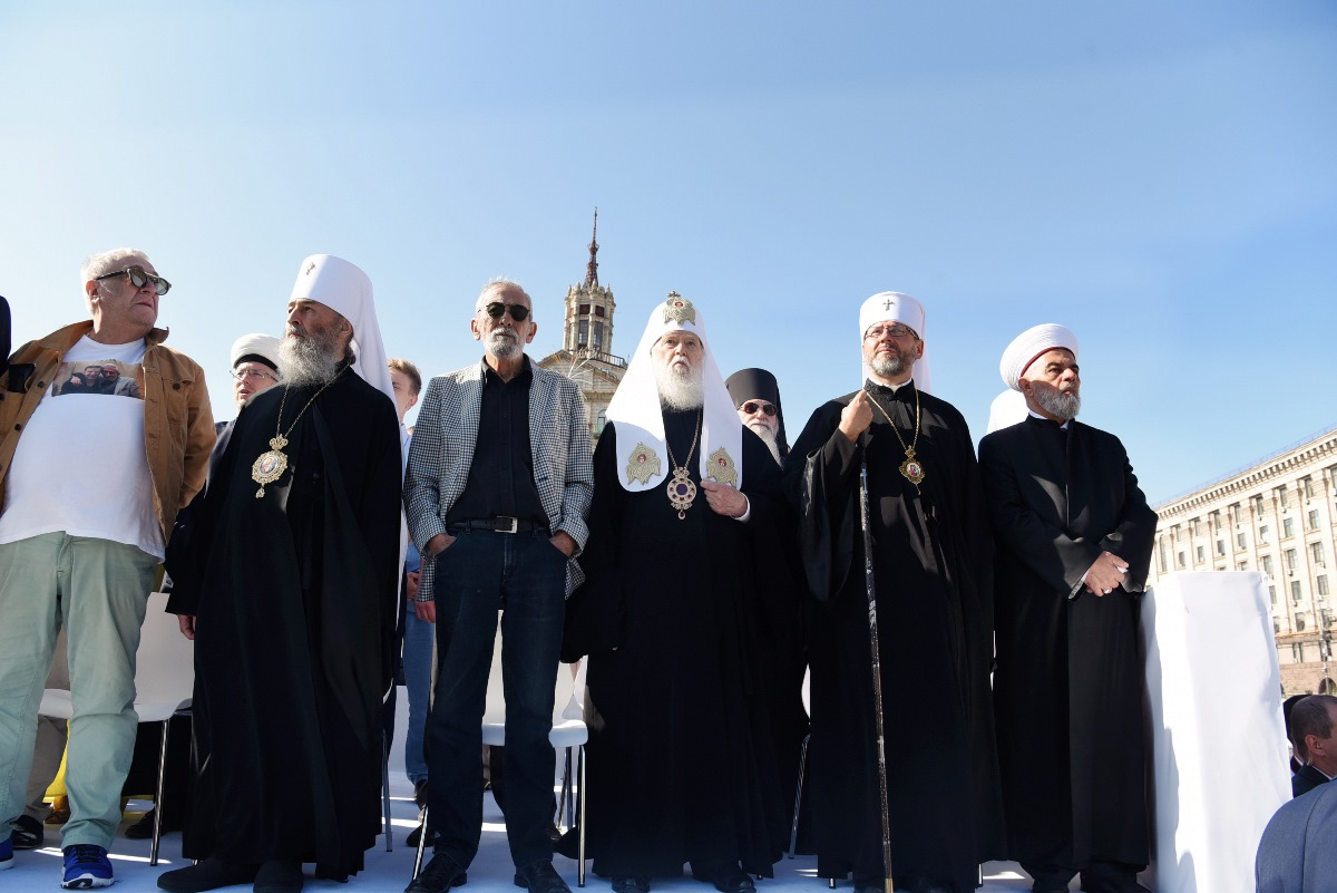 Патріарх Філарет взяв участь в урочистих заходах з нагоди Дня Незалежності України