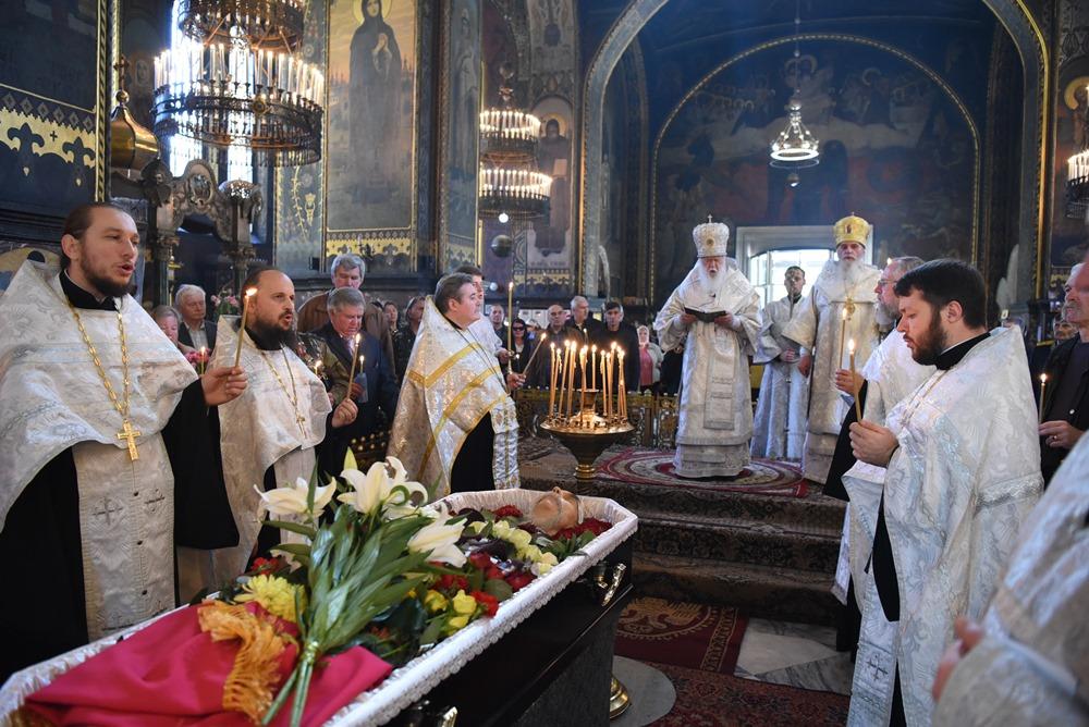 Патріарх Філарет звершив чин похорону генерал-майора Володимира Муляви