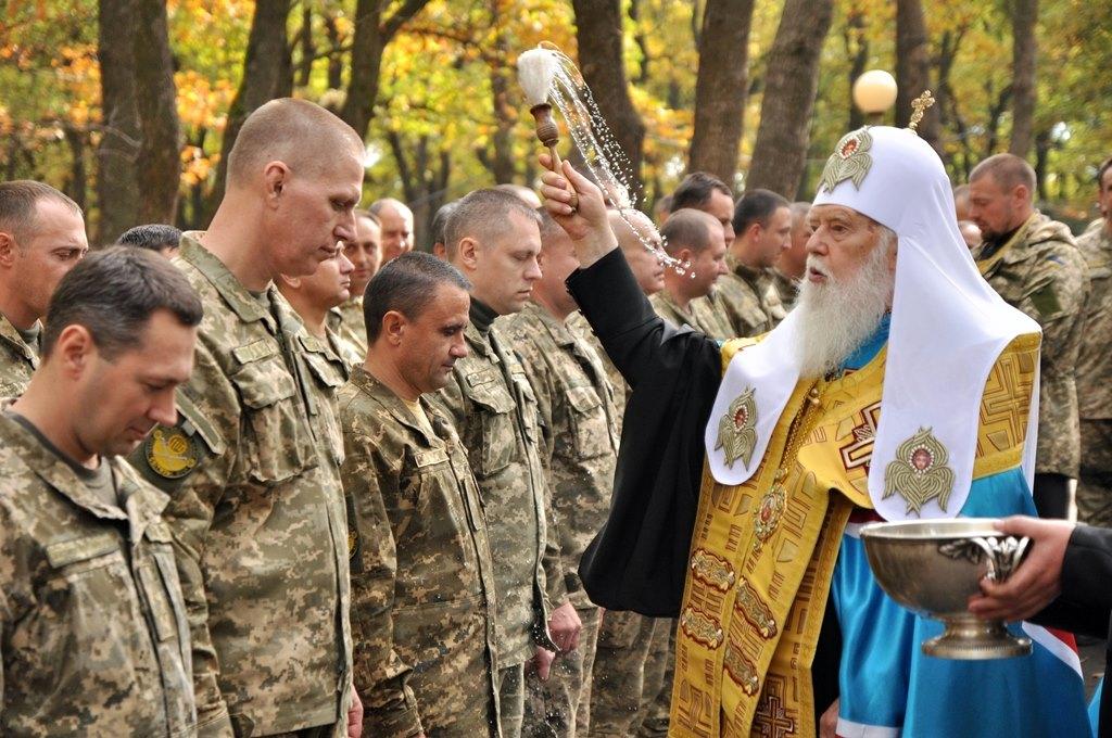 Київська Патріархія допомагає реабілітації захисників України