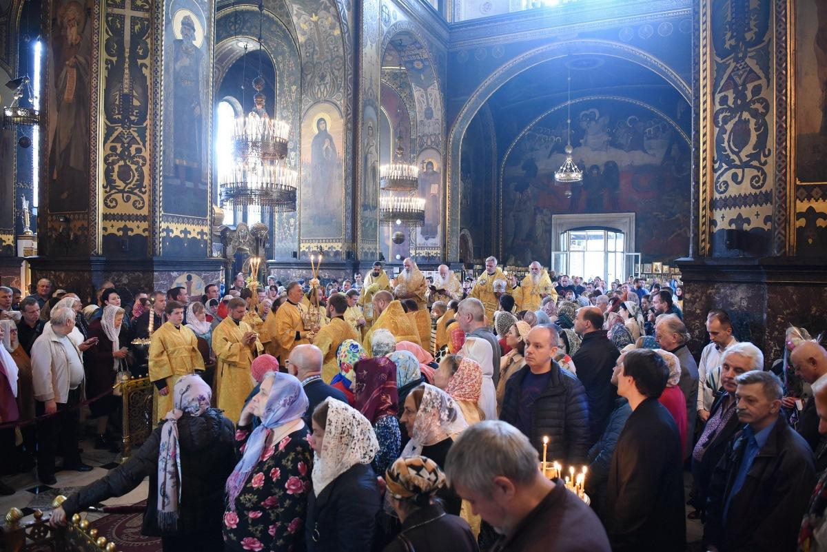 Святкування 24-ої річниці інтронізації Святійшого Патріарха Філарета