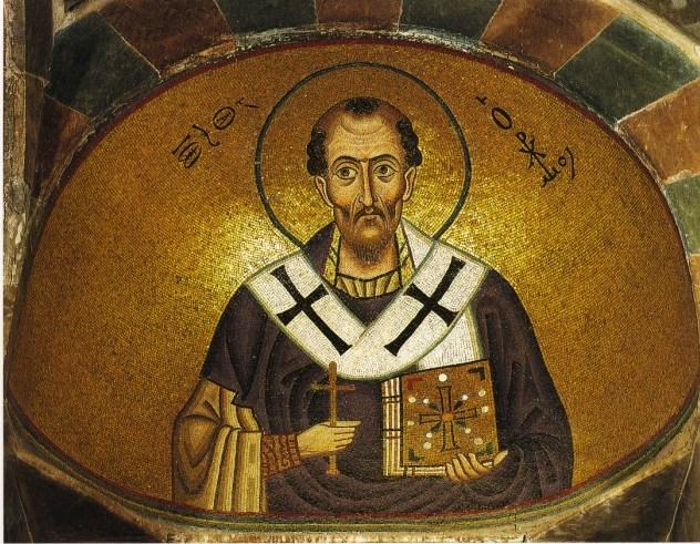 Святитель Іоан Золотоустий, архиєпископ Константинопольський