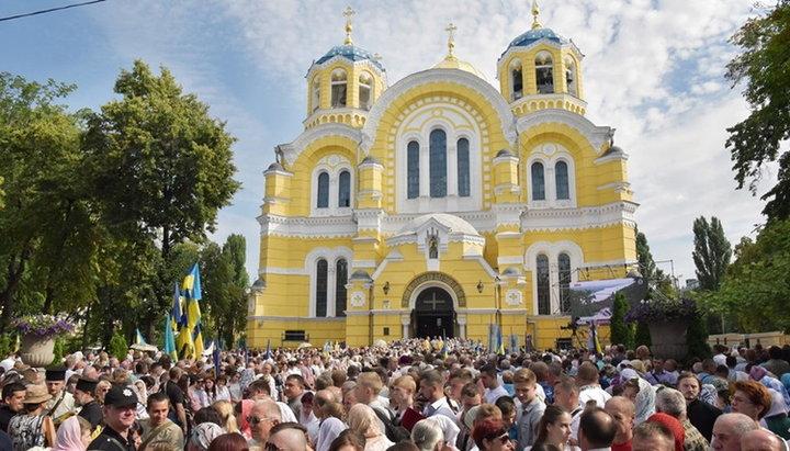 УПЦ Київського Патріархату – четверта за впливовістю конфесія України