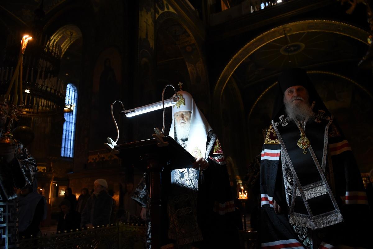 Велике повечір'я з читанням четвертої частини Покаянного канону прп. Андрія Критського
