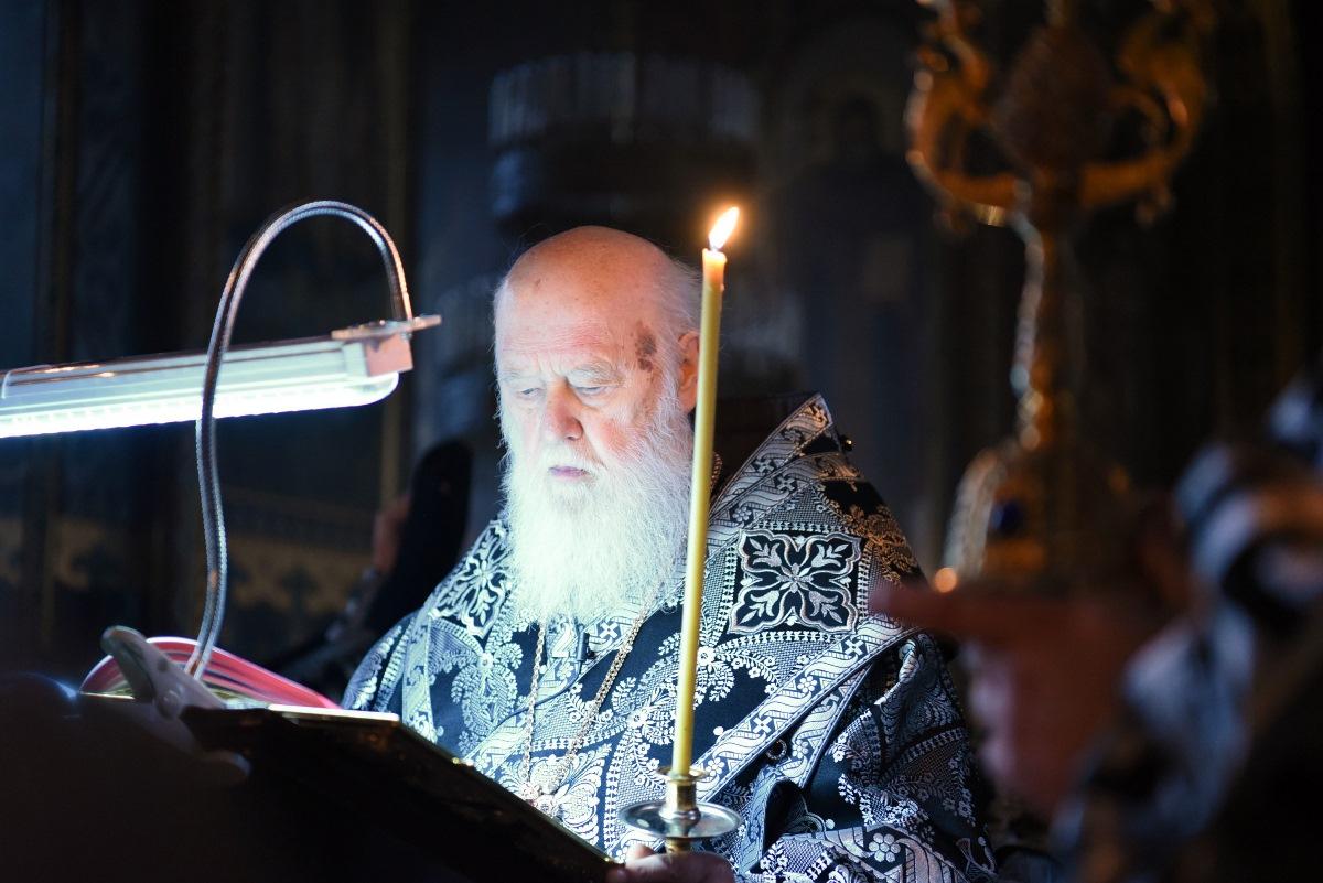 Святійший Патріарх Філарет звершив Пасію