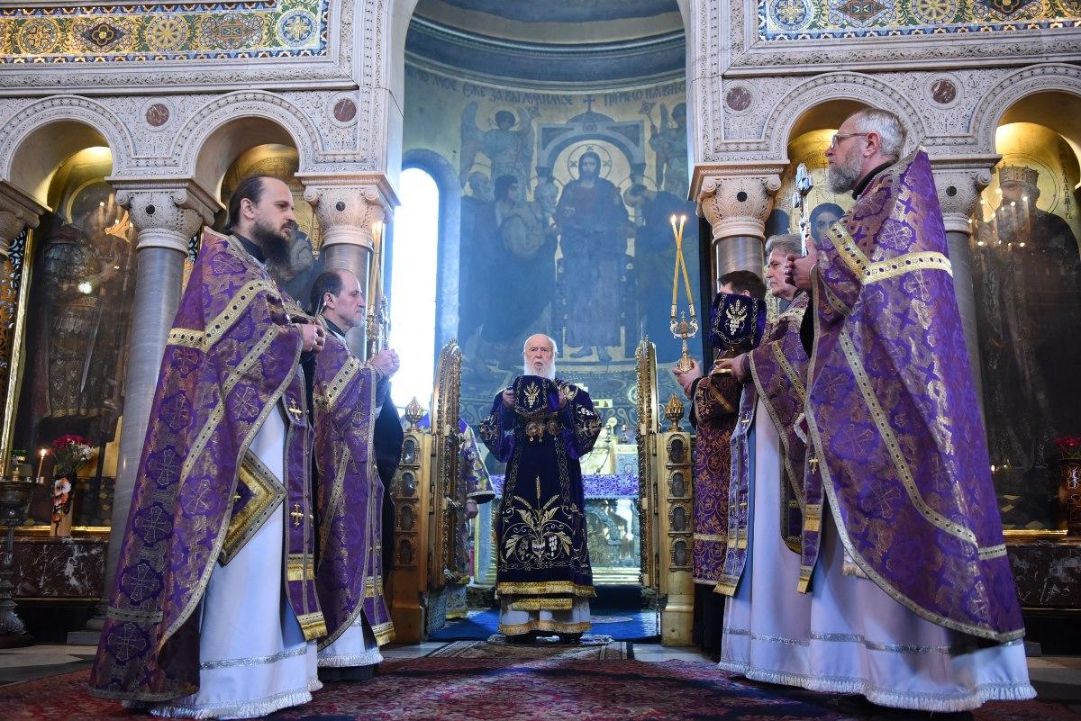 Патріарше богослужіння у неділю 4-ту Великого посту
