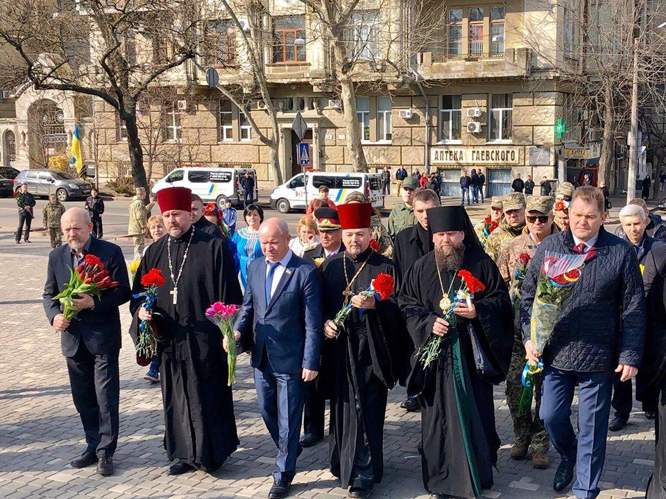В Одесі вшанували пам'ять Тараса Шевченка