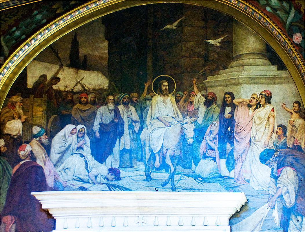 Проповідь Патріарха Філарета в день свята Входу Господнього в Єрусалим