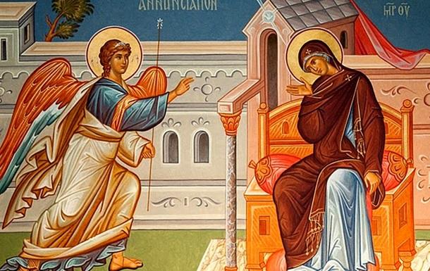 Проповідь Патріарха Філарета на свято Благовіщення Пресвятої Богородиці
