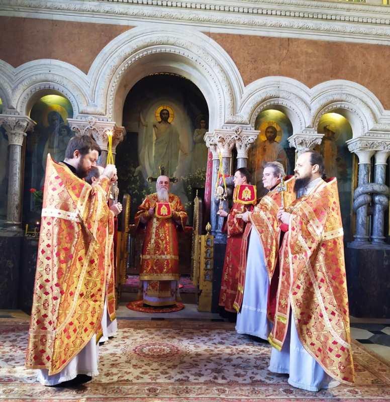 Престольне свято Володимирського патріаршого кафедрального собору