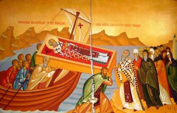 22 травня перенесення мощей святителя Миколая Чудотворця