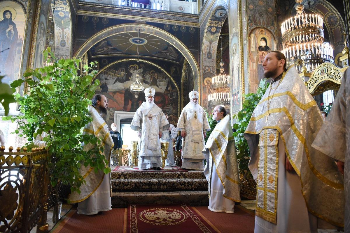 Патріарше богослужіння у Троїцьку поминальну суботу