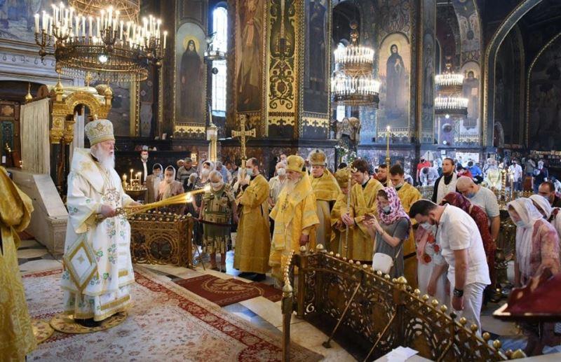 Патріарше богослужіння в неділю Всіх святих