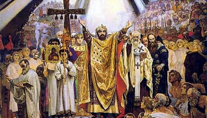 Святий рівноапостольний князь Володимир, хреститель Руси-України