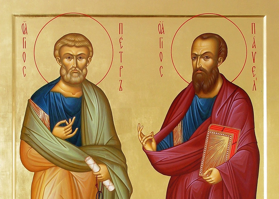 12 липня – святих первоверховних апостолів Петра і Павла