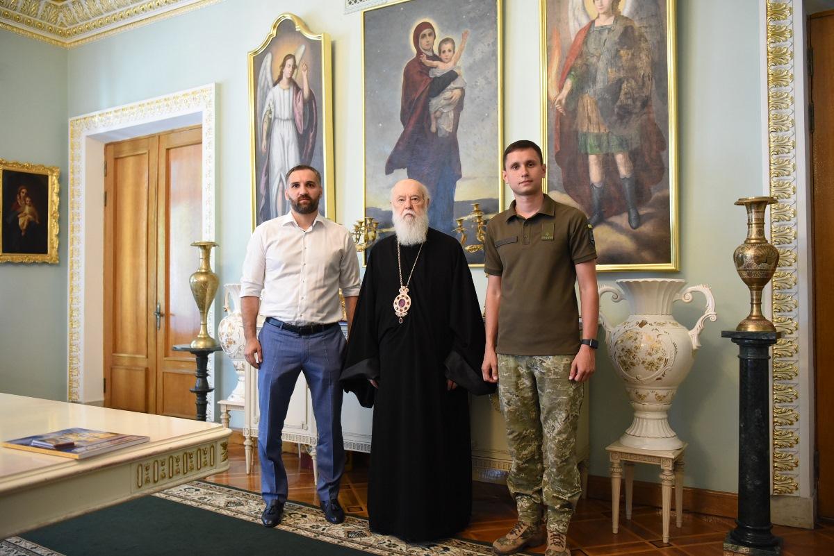 Святійший Патріарх Філарет відзначив церковними нагородами державних і громадських діячів