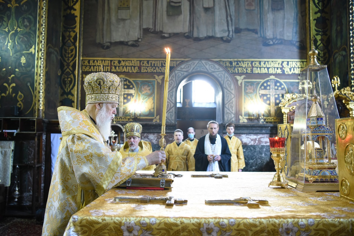 """""""Міцною вірою жила, живе і буде жити Церква Христова"""" – Патріарх Філарет"""
