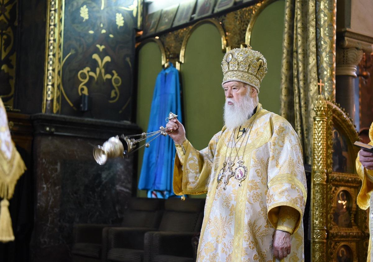 Патріарх Філарет помолився за спокій душ митрополитів Андрія (Горака) і Володимира (Сабодана)
