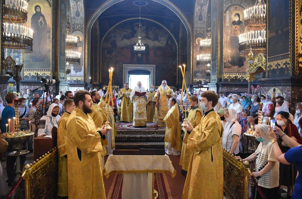 Патріарше богослужіння в день пам`яті святих апостолів Петра і Павла