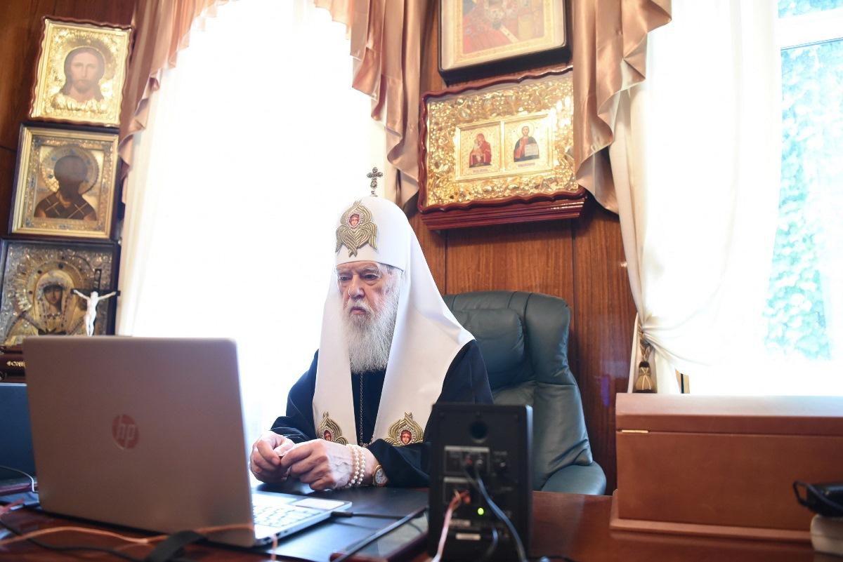 Патріарх Філарет взяв участь у засіданні Поважної Ради відзнаки «Орден Святого Пантелеймона»