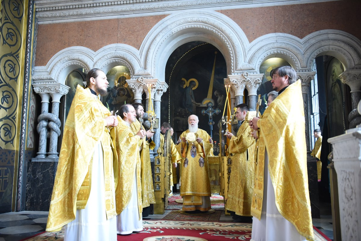 Патріарше богослужіння у день пам'яті рівноапостольної княгині Ольги