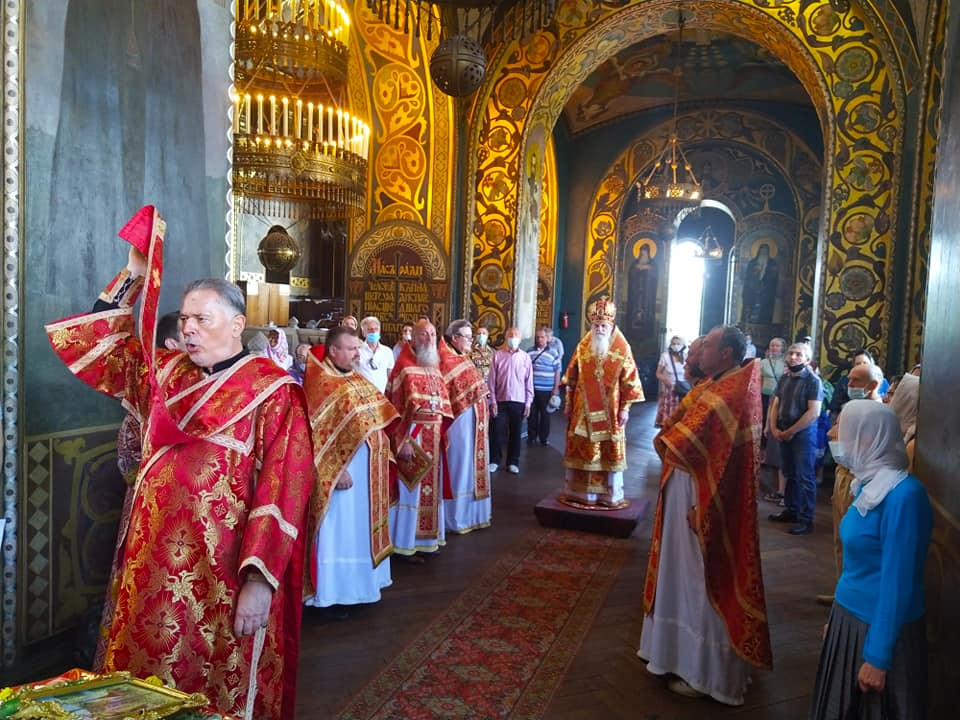 Престольне свято Володимирського собору
