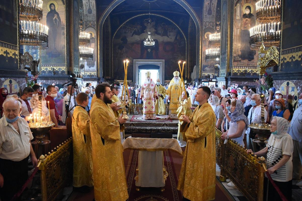 Патріарше богослужіння у неділю 9-ту після П'ятидесятниці та день пам'яті вмч. Пантелеймона