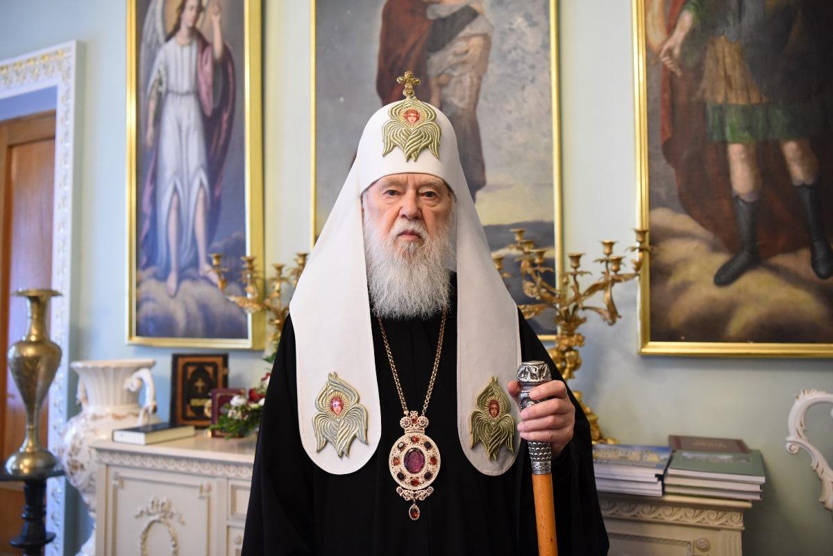 Святійший Патріарх Філарет привітав українців з 29-ою річницею Незалежності Української держави
