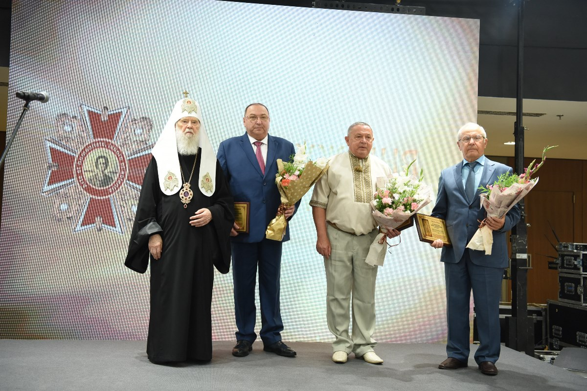 Патріарх Філарет взяв участь у нагородженні найкращих медиків України орденами та медалями святого Пантелеймона