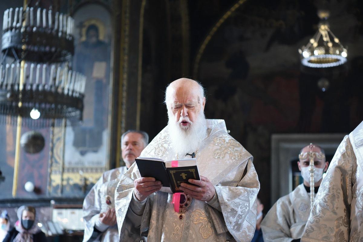 Патріарх Філарет звершив подячний молебень із нагоди 29-ої річниці Незалежності України
