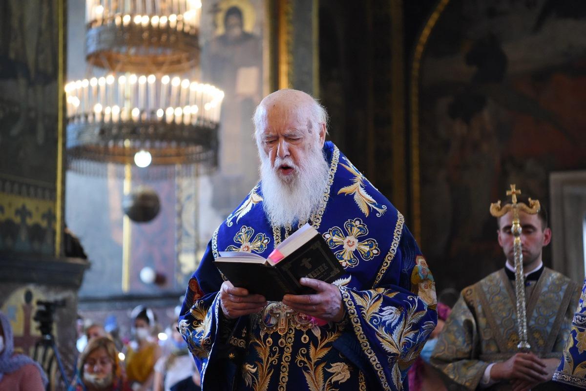 """""""Якщо ми каємося і хочемо бути з Богом, то Господь не відкине нас"""" – Патріарх Філарет"""