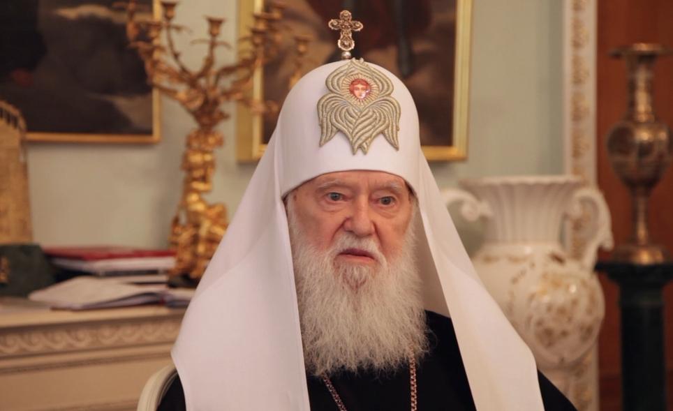 Україні потрібна незалежна Церква. Інтерв'ю Святійшого Патріарха Філарета (ВІДЕО)