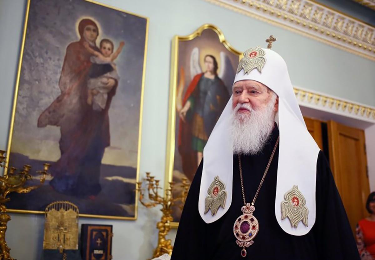 Святійший Патріарх Філарет одужав і дякує всім за молитви
