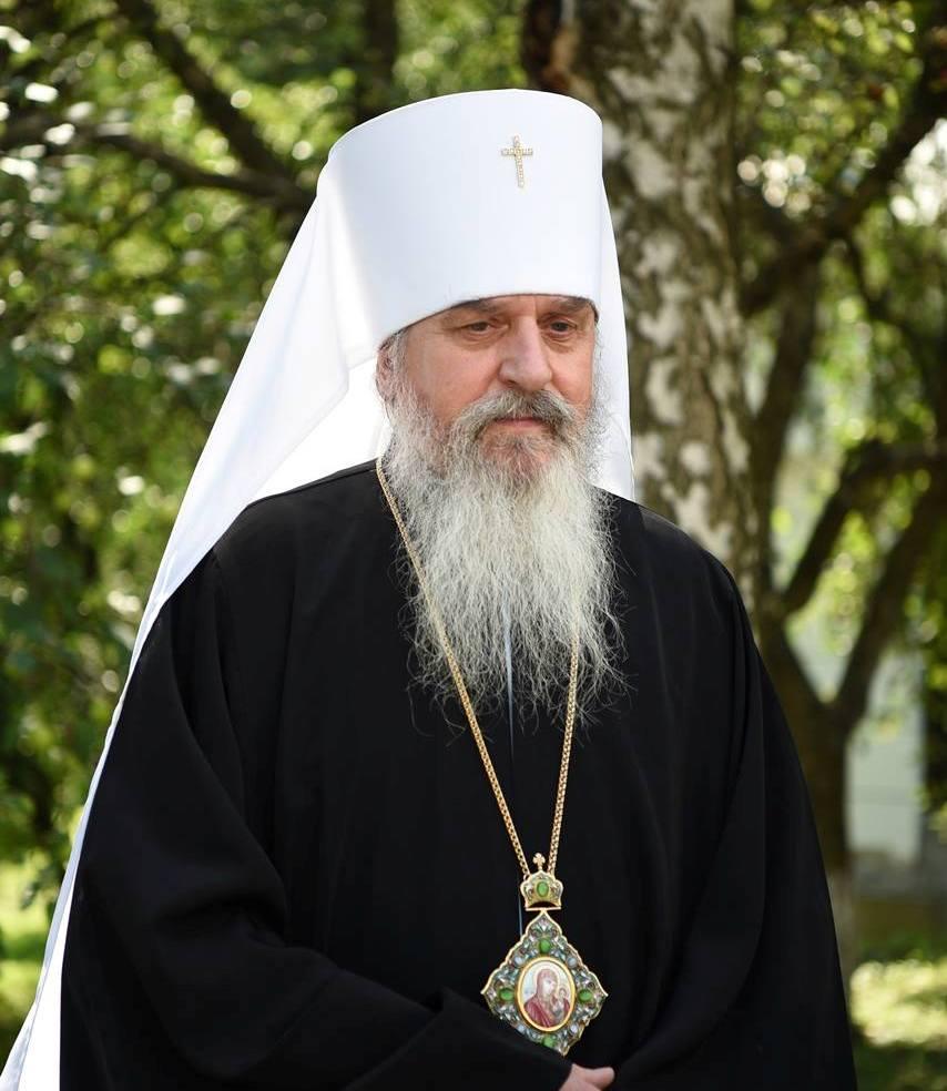 Святійший Патріарх Філарет привітав митрополита Білгородського і Обоянського Іоасафа з Днем тезоіменитства