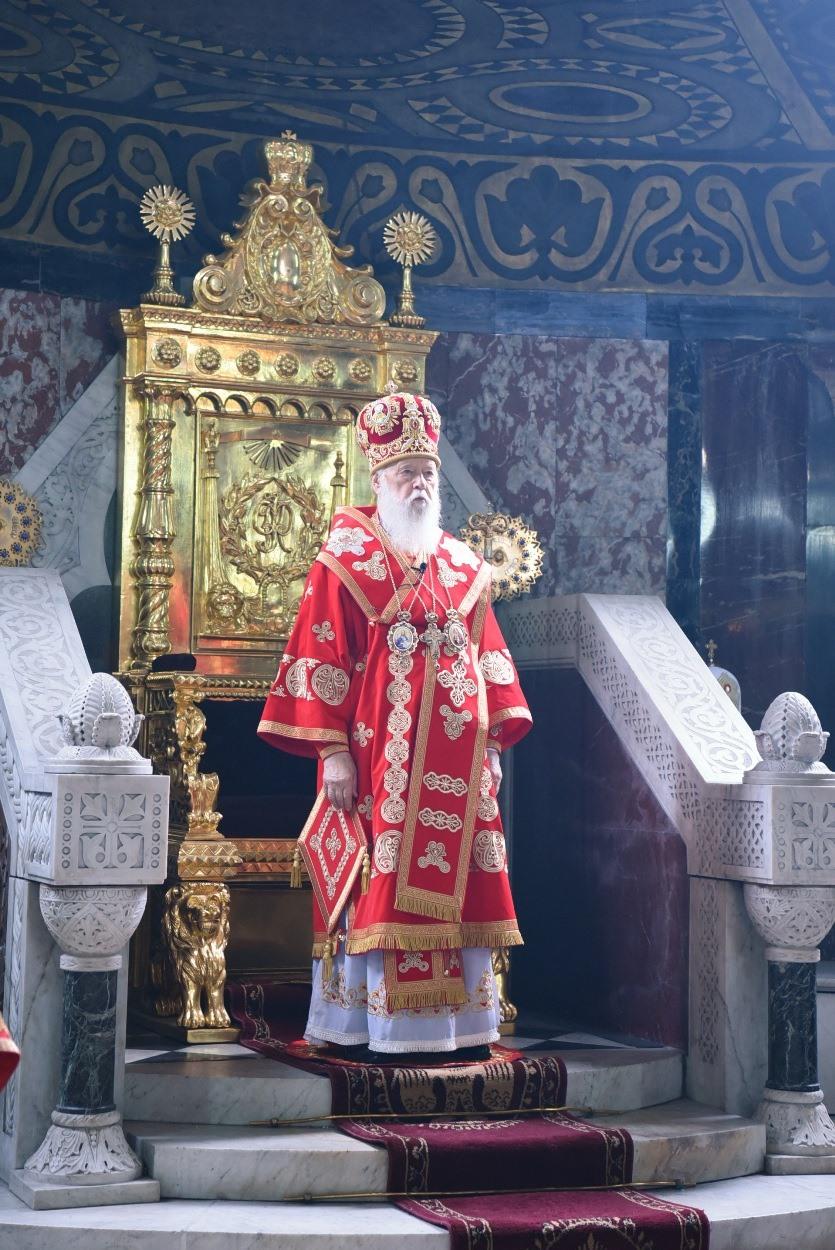 25-та річниця інтронізації Святійшого Патріарха Філарета