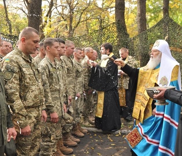 Військовослужбовці подякували Патріарху Філарету за допомогу