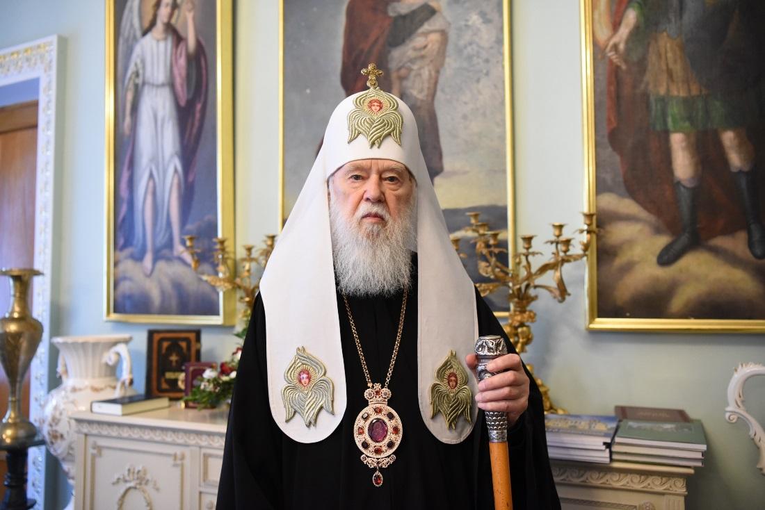 Звернення Патріарха Київського і всієї Руси-України Філарета до православних християн (UA/EN)