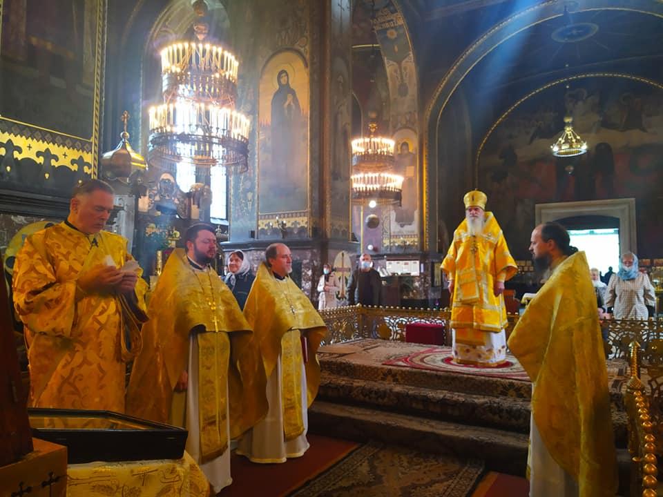 Богослужіння у день пам'яті святого апостола і євангелиста Іоана Богослова