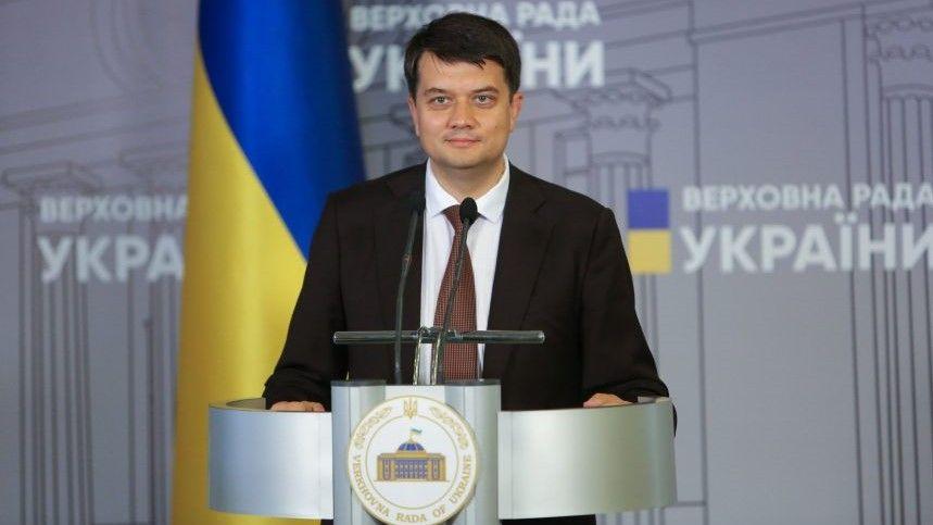 Голова Верховної Ради Дмитро Разумков привітав Патріарха Філарета з 25-річчям інтронізації