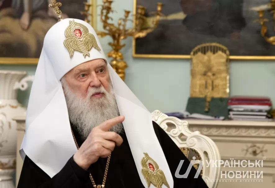 Велике інтерв'ю Патріарха Філарета Українським Новинам: Без незалежної Церкви не буде незалежної держави