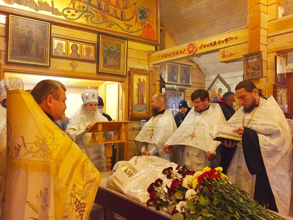 Відбувся чин похорону новопреставленого протоієрея Сергія Станкевича