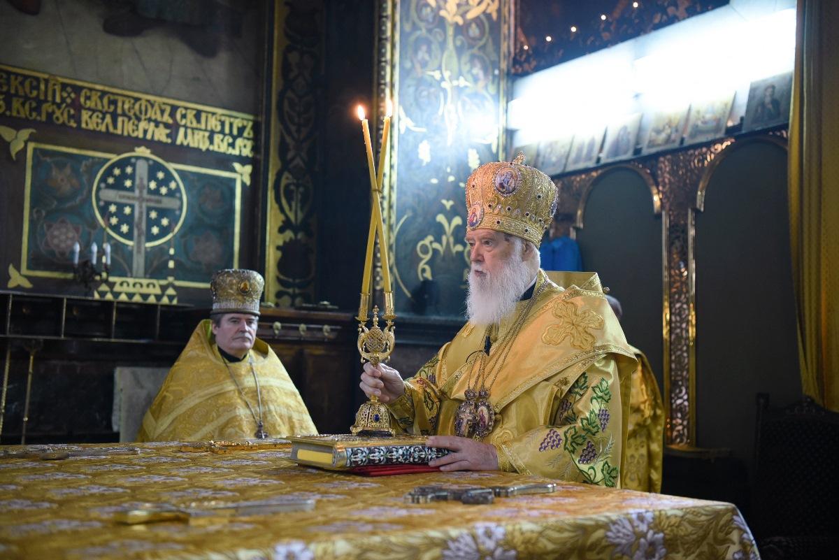 Патріарше богослужіння у неділю 21-шу після П'ятидесятниці